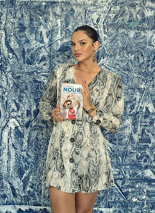 Famke Louise leest biografie Nouri